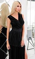 Платье Черное Осень-Зима 42-44,44-46, фото 1