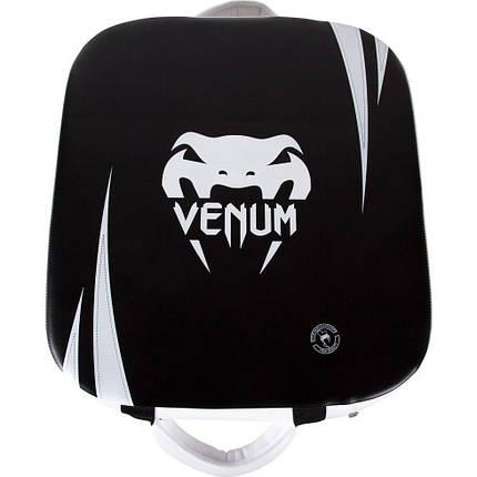 Макивара Venum Square Kick Shield Black Ice, фото 2