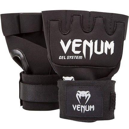 Накладки гелевые Venum Gel Kontact Glove Wraps, фото 2