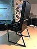Стул -Аммо-. Металлический, мягкий стул для кафе, ресторана.