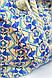 Сумка пляжная Фламинго голубые, 1802/150, фото 4