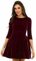 Платье Марсала Осень-Зима 42,44,46, фото 1