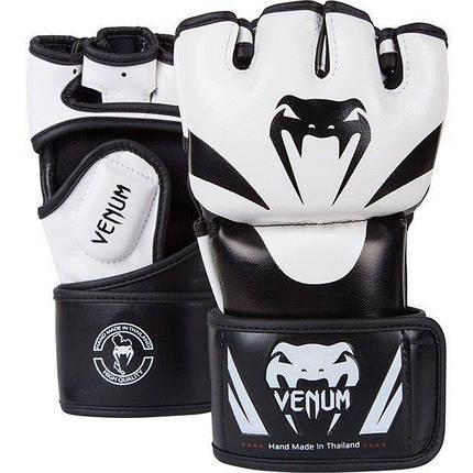 Перчатки для MMA Venum Attack MMA Gloves Skintex Leather, фото 2