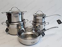 Набор посуды из нержавеющей стали Krauff 26-157-022