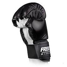 Перчатки ММА Free-Fight Black, фото 2