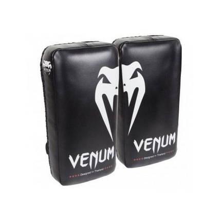 Тай-Пэды Venum Giant Kick Pads Black, фото 2