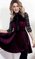 Платье Марсала Осень-Зима 42-46, фото 1