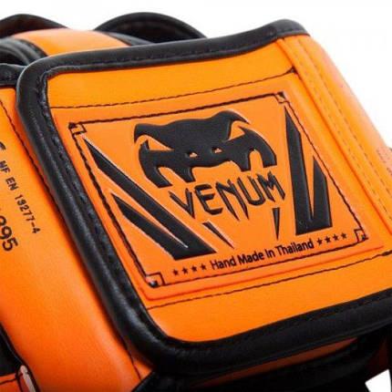 Шлем Venum Elite Headgear Neo Orange, фото 2