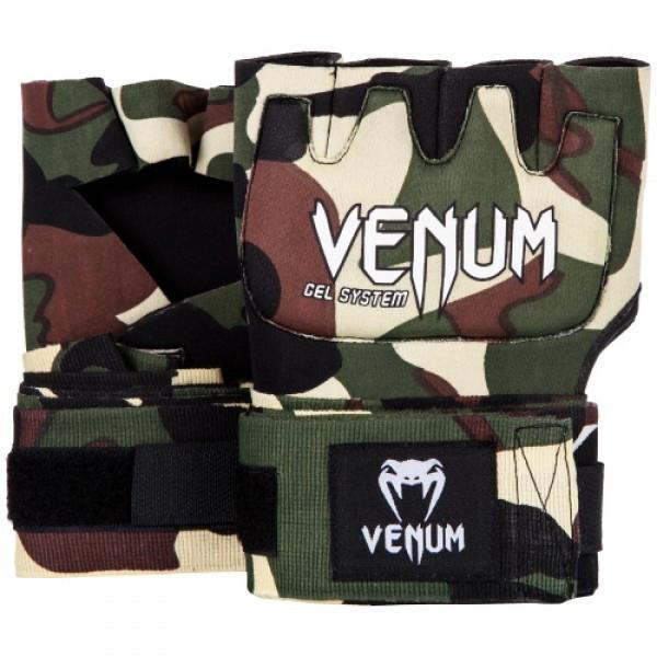 Гелевые бинты Venum Gel Kontact Glove Wraps Camo