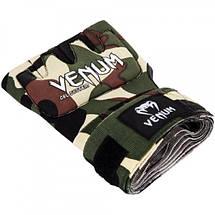 Гелевые бинты Venum Gel Kontact Glove Wraps Camo, фото 2