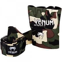 Гелевые бинты Venum Gel Kontact Glove Wraps Camo, фото 3