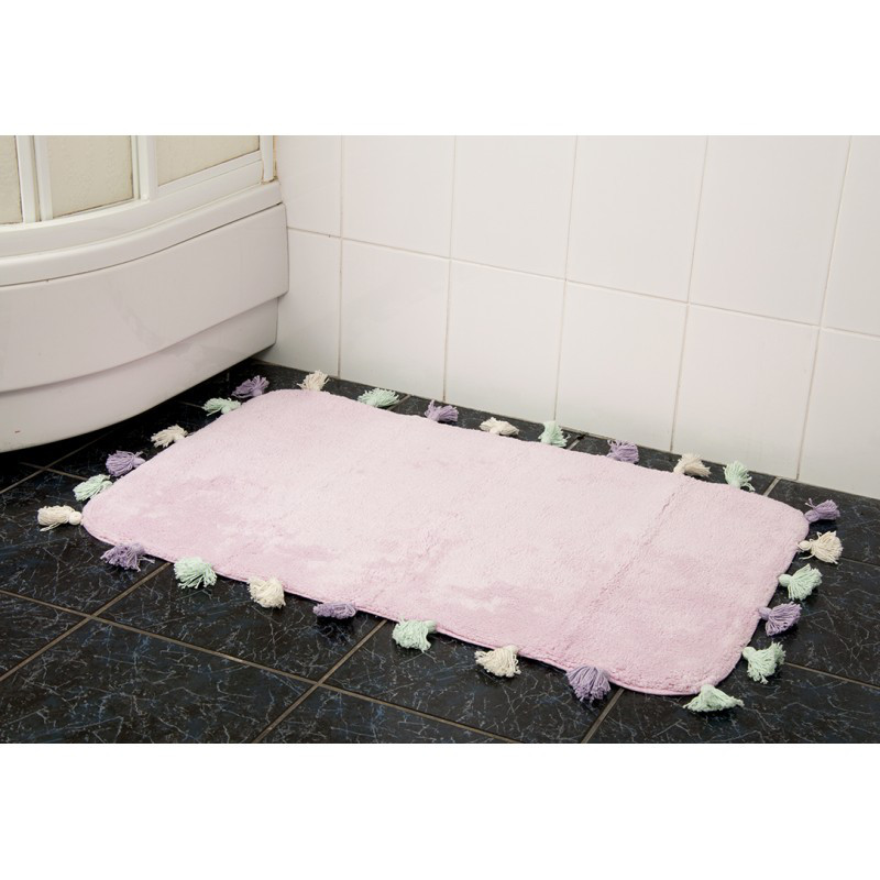 Коврик в ванную Irya - Lucca pembe розовый 60*90 см