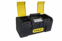 """STANLEY Ящик для инструмента """"Stanley Basic Toolbox"""" пластмассовый 1-79-216, 394 x 220 x 162 мм (16"""")."""