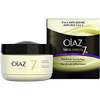 Olaz total effects 7in1 Anti-Ageing Straffende Nachtpflege - Антивозрастной Укрепляющий ночной крем для лица