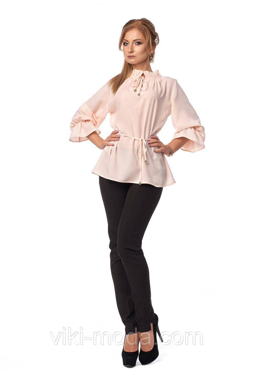 Женский костюм двойка: штаны + блуза