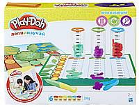 Игровой набор с пластилином Play-Doh Hasbro Лепи и измеряй (B9016)
