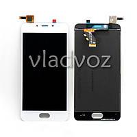 Дисплей модуль экран с сенсором для замены на  U10 (U680H) LCD белый