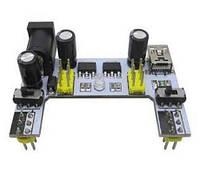 Модуль питания MB102 3.3V 5V с miniUSB для макетных плат