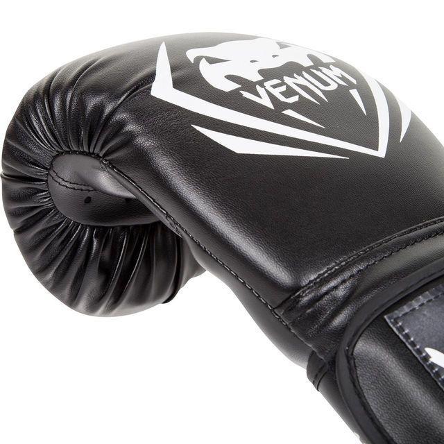 Боксерские перчатки Venum Contender Boxing Gloves Black 4