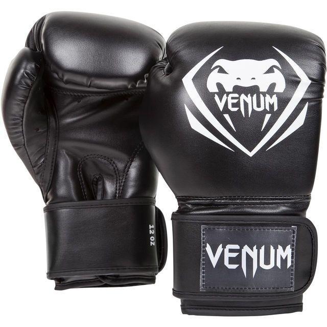Боксерские перчатки Venum Contender Boxing Gloves Black 7