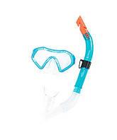 Маска для плавания BestWay 24025, комплект с трубкой, маска для ныряния, взрослая