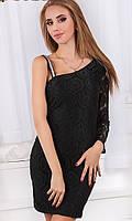 Платье Черное Осень-Зима 42,44,46, фото 1