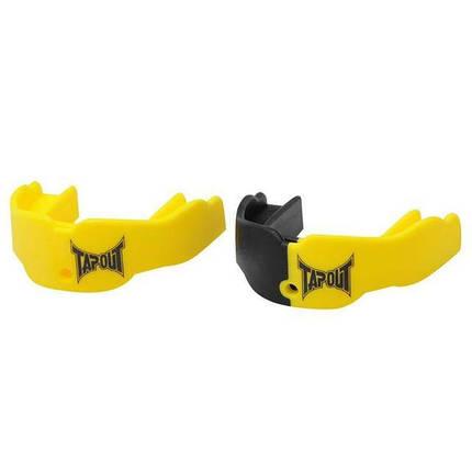 Капа TapouT (2 штуки) Neon Yellow/Black, фото 2