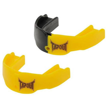 Капа TapouT (2 штуки) Yellow/Black, фото 2