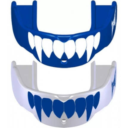 Капа TapouT Fang (2 штуки) Blue/White, фото 2