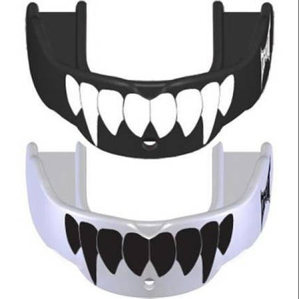 Капа TapouT Fang Youth детская (2 штуки) Black/White, фото 2