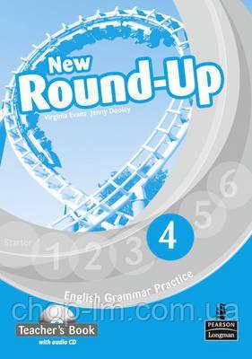 New Round-Up Level 4 Teacher's Book/Audio CD Pack (книга для учителя)