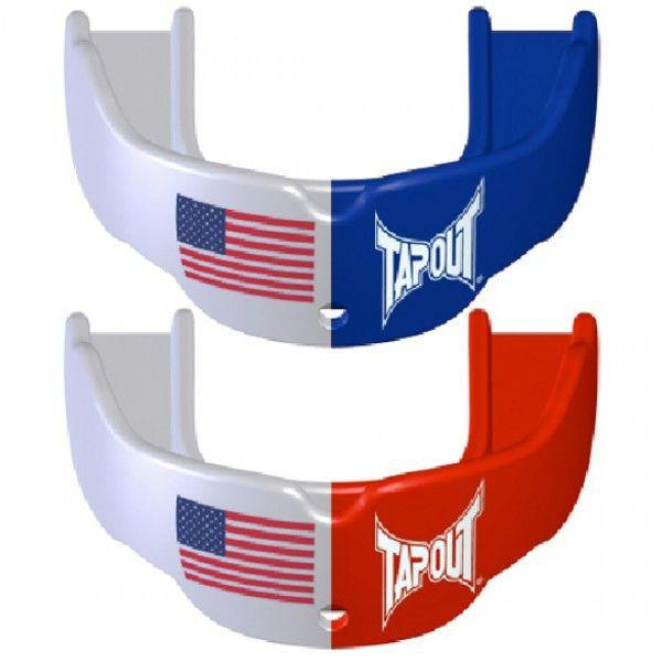 Капа TapouT USA Edition (2 штуки) Blue/White/Red