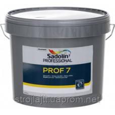 Латексная краска Sadolin Prof 7, Садолин Проф 7, 10 л