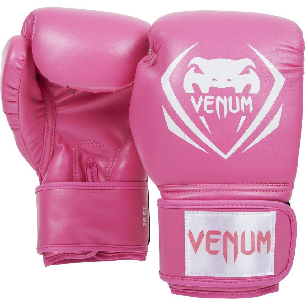 Женские боксерские перчатки Venum Contender Boxing Gloves Pink