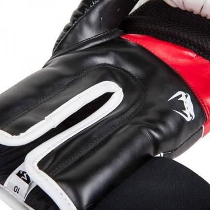Боксерские перчатки Venum Elite Boxing Gloves White, фото 2