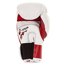 Боксерские перчатки Venum Tribal Boxing Gloves Red White, фото 3