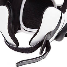 Боксерский шлем Venum Challenger 2.0 Headgear Hook Loop Strap Black Ice, фото 2