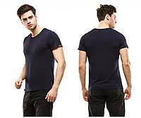 Мужская футболка классическая вискоза (расцветки)