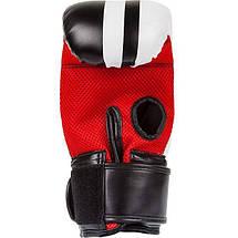 Снарядные перчатки Venum Elite Bag Gloves Black, фото 3