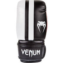 Снарядные перчатки Venum Elite Bag Gloves Black, фото 2