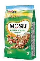 Мюсли Bona Vita Musli crunchy (орехи) 750 г