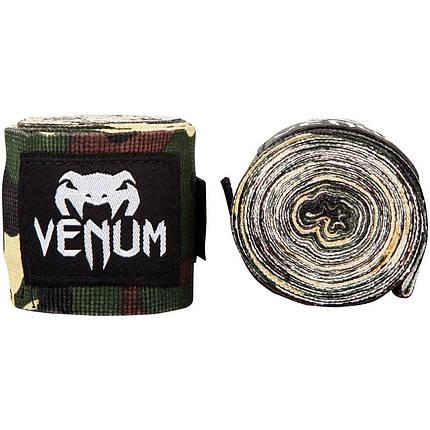Боксерские бинты Venum Boxing Handwraps Camo - 4m, фото 2