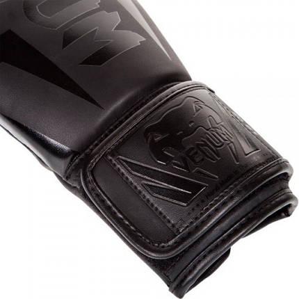 Боксерские перчатки Venum Elite Boxing Gloves Matte Black, фото 2