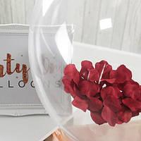 Красные лепестки роз искусственные 150 шт