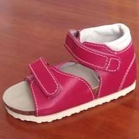 Ортопедическая обувь для девочки Ortex Т-62 красные