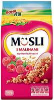 Мюсли Bona Vita Musli crunchy (малина) 750 г