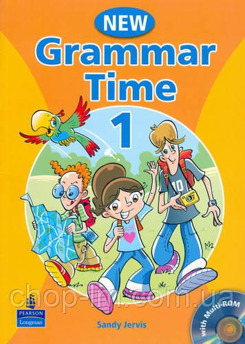 Grammar Time 1 (New Edition) Student's Book with CD-ROM Pack (учебник по грамматике для детей, уровень 1)