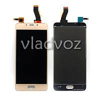 Дисплей модуль экран с сенсором для замены на  U10 (U680H) LCD золото
