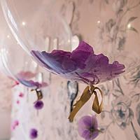 Лепестки роз искусственные сиреневые, 150 шт