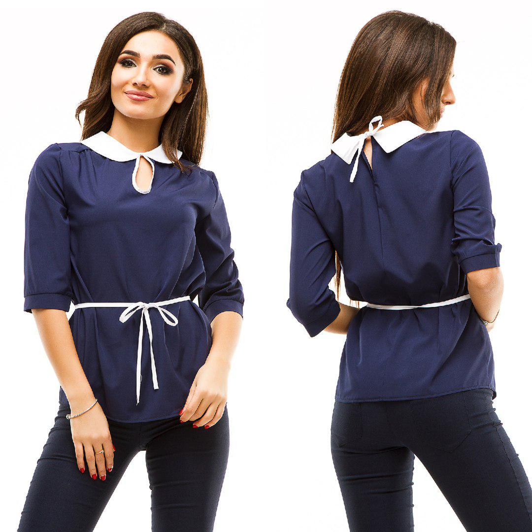 66b2a5c1784 Красивая Женская Рубашка с Пояском 44